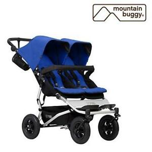 NEW MOUNTAIN BUGGY DOUBLE STROLLER DUET_V3_3 225514385 Duet Marine/Blue
