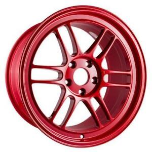 ENKEI RPF1 Competition Red 17x9.0 / 18x9.5 Special Colour **WHEELSCO**