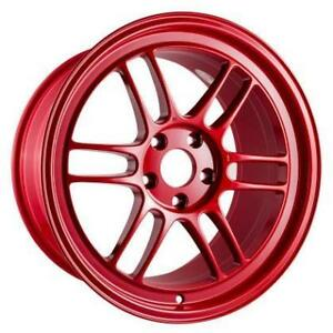 ENKEI RPF1 Competition Red 18x9.5 17x9 Special Colour **WHEELSCO**