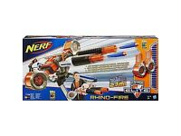 Nerf n strike elite rhino fire blaster new