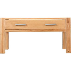 Heart of House Alston 1 Drawer Coffee Table - Solid Oak