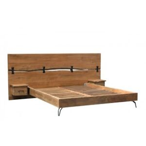 Final Sale Up To 80% Off ! --- DRIFTWOOD KING BED