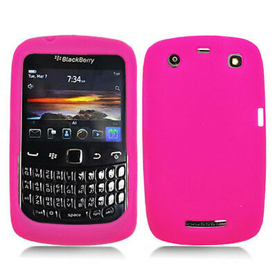 Pink Silicone Skin Case Cover for Blackberry Curve 9370/9360 Pink Case Blackberry Curve