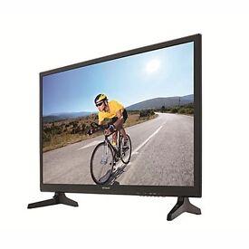 """New 28"""" led full hd tv , still under warranty"""