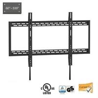 """X-Large Fixed Curved & Flat Panel TV Wall Mount, 60 """"à 100"""""""