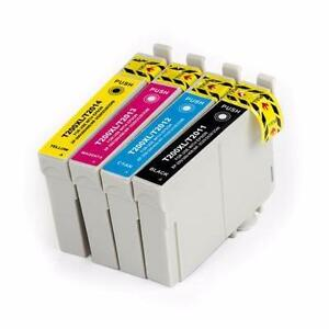 Epson T200XL New Compatible Ink Cartridges Value Pack High Yield (BK/C/M/Y)