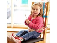 Gro Chair Harness / baby seat - turn a dining chair into a highchair
