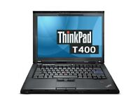 5 Lenovo Think Pad T400 widescreen laptops