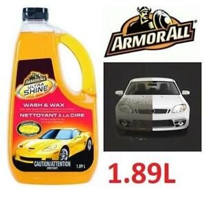 NEW ARMOR ALL CAR WASH  WAX 1.89L 246162328 Ultra Cleans the toughest automotive dirt and grime automobile product