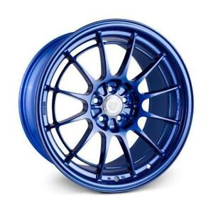 ENKEI NT03+M 18x9.5 5x100 5x114 Victory Blue FRS 86 BRZ Forester WRX STi Special Colour **WHEELSCO**