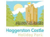 Haggerston castle caravan for let