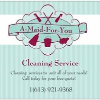 A-Maid-For-You Cleaning Services