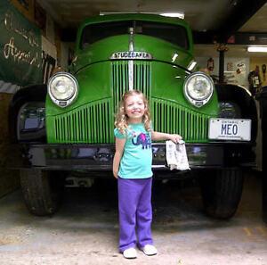 48 Studebaker 1  1/2 ton truck