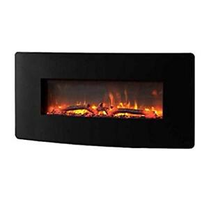 Muskoka 35 inch Wall Mounted Curved Electric Fire