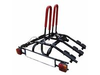 New Titan 2/3/4 Bike Carriers / Cycle Rack w. Tilting - tow bar platform