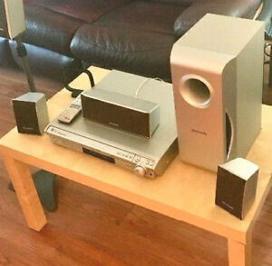 Panasonic Home Theatre 5 DISK CD/DVD Player - Has a Great Sound!