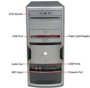 Windows 7 Dual core, Gateway  GM5260