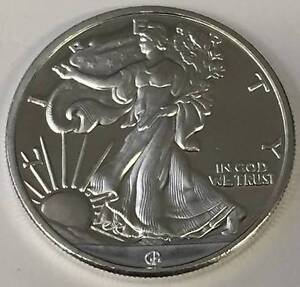 1/2 oz HM Walking Liberty Silver Round COIN - .999 Pure (New) Inglewood Stirling Area Preview