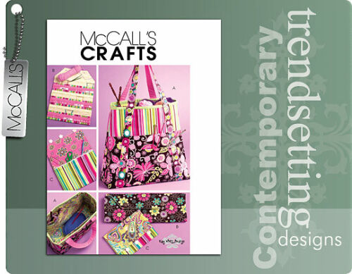 McCalls 5722 - Craft Pouches Pattern... Keep Yourself Organized