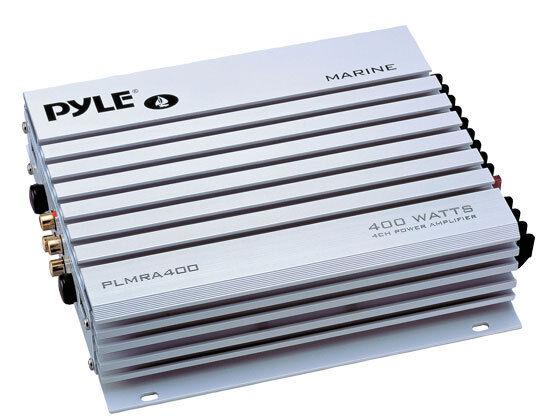 4-Channel 400-Watt Waterproof Marine Amplifier