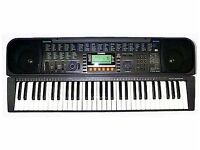 Casio Keyboard -CTK-611- 61 Keys- Charger included