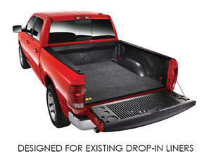 BedRug BMT09CCD 5.7ft Truck Bed Protection Mat for Ram 1500 Bed w/Drop-In Liner