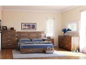 $249 - QUEEN SIZE PLATFORM BED