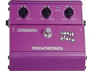 Rocktron Sonic Glory OVERDRIVE PEDAL -Original Packaging Inc