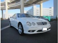 Mercedes CL55 Kompressor LHD 2005 paddle shift, perfect condition