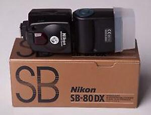 Nikon SB-80 DX Autofocus Speedlight Flash, Made in Japan