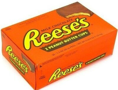 36 PACK  Reese's Peanut Butter Cup THE ORIGINAL best candy (The Best Chocolate Candy)