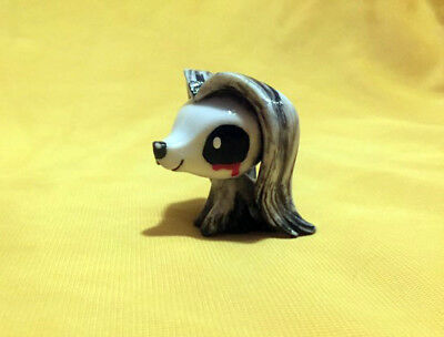 Littlest Pet Shop Custom Ghost Dog OOAK LPS Halloween  ()