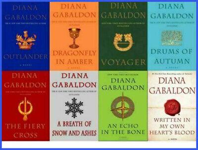 Outlander Series Full Set Diana Gabaldon (E-version) FAST DELIVERY 📩📕