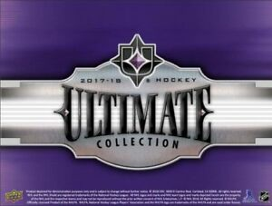 17-18 Upper Deck Ultimate Collection Hockey Now Available