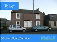 GOOD TENANTS WANTED FOR 1 BED FLAT, 30 UNION ROAD, CAMELON, FALKIRK, FK1 4PG