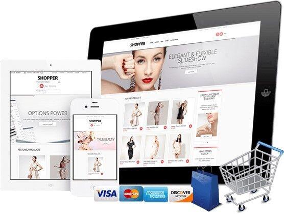 Apparel e-commerce website design service