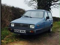 Reliant Realto only 42000 miles