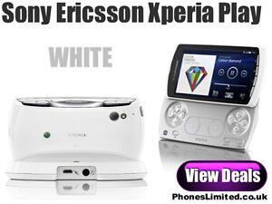 NEW-Sony-Ericsson-Xperia-PLAY-3G-4-0-FWVGA-Android-V2-3-5-0MP-WHITE-SMARTPHONE