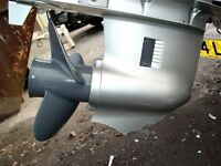 *** Damaged Skeg and Prop Repair ***