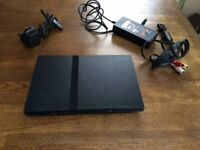 Sony PlayStation 2 Slim - Ps2 with 2 games
