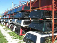 Hundreds of Used Truck Caps, Tonneau Covers, and more IN STOCK