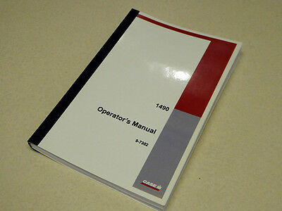 Case David Brown 1490 Tractor Operators Manual Owners Maintenance Book New