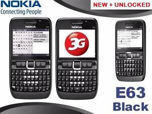 NEW 3G NOKIA E63 UNLOCKED O484 189 733 $85. Castle Hill The Hills District Preview