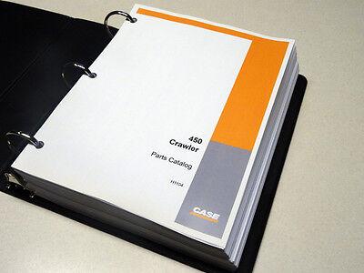 Case 450 Crawler Dozer Bulldozer Parts Catalog Manual Sn 3038436-3060306 New