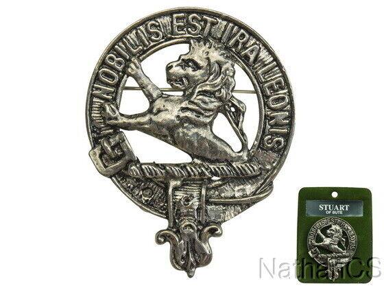 Stuart Scottish Clan Crest Badge