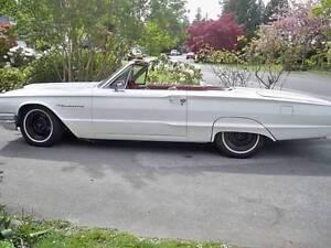 Restored 1964 T-Bird Convertible