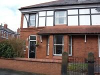 Two bedroom homely apartment near Liverpool to rent, two to four weeks in August.
