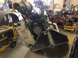 2013 core cut concrete saw cc3500