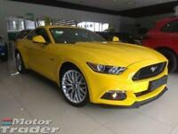 New Ford Mustang 0% finance 5.0 V8 GT AUTO Triple Yellow