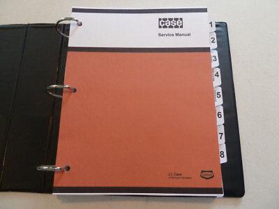 Case 430ck530ck Tractor Service Manual Repair Shop Book New With Binder